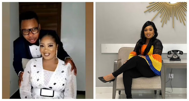 Officially Mrs Banks- Actress Bidemi Kosoko says as she ties Knot with her Husband (Video)