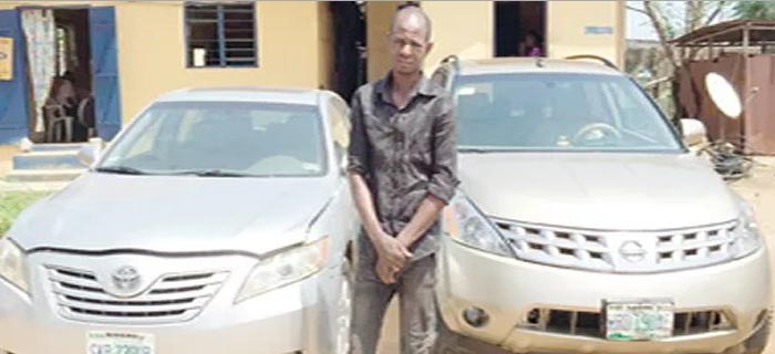 Adorable Photo Of Serial Car Snatcher Nabbed In Port Harcourt