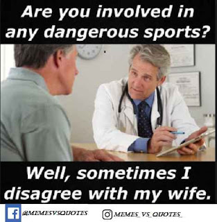I disagree with my wife