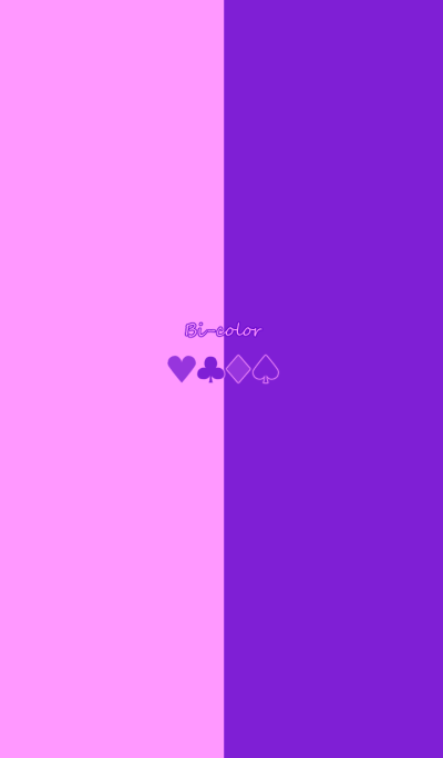 Bi-color -Purple & Pink-