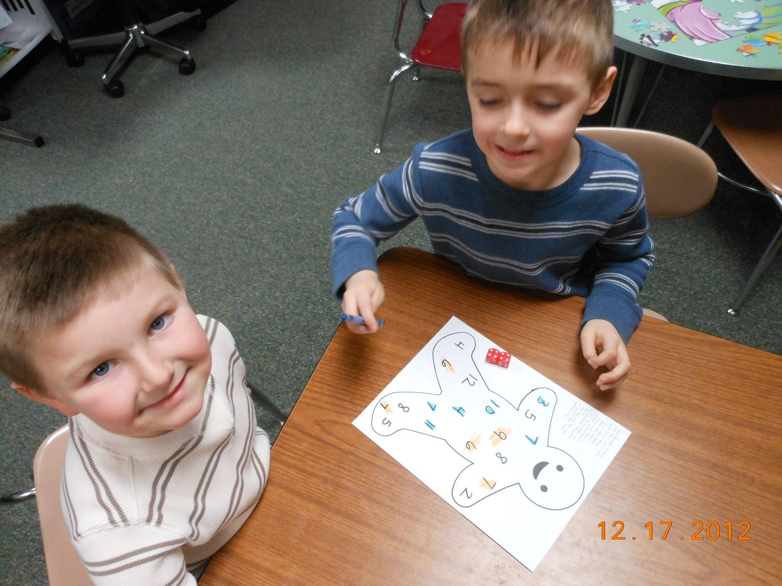 Ms Tacke S Kindergarten Blog Gingerbread Math