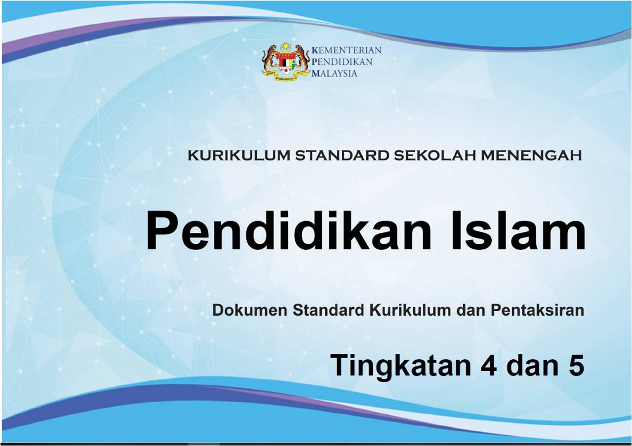 Dskp Pendidikan Islam Tingkatan 4 Dan 5 Jom Belajar Pai