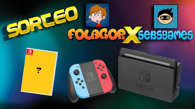 SORTEIO de Um Nintendo Switch e um jogo de sua escolha!