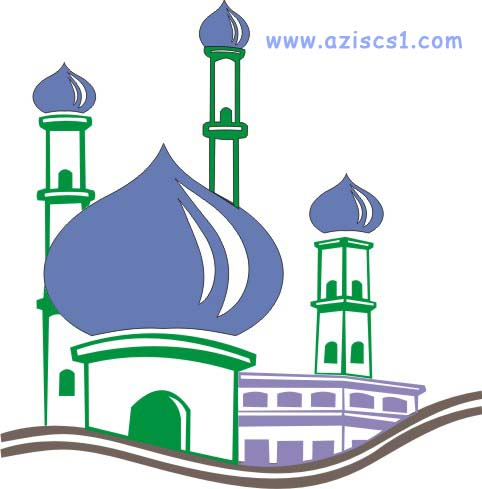 Gambar Masjid Animasi Gambar Islami