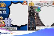 Tema HUT Bhayangkara Ke-75, Download 8 Twibbon HUT Bhayangkara 2021