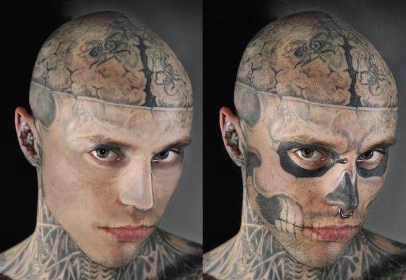 rick genest zombie boy - photo #18