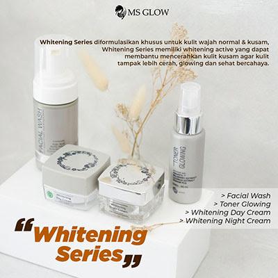 msglow whitening series