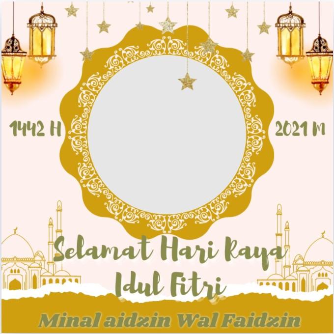 Link Twibbon Hari Raya Idul Fitri 2021 1442 H Sukaoinfo