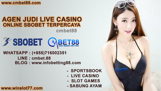 Agen Judi Live Casino Online SBOBET Terpercaya