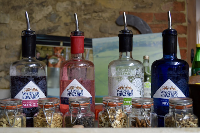 Warner Edwards gin range