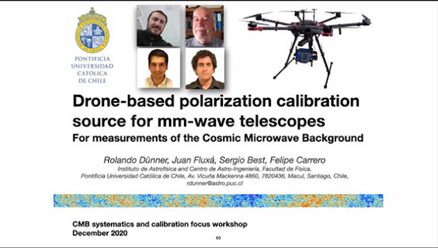 Using a drone as polarization calibration for Simons Array (Source: Brian Keating, Simons Foundation)