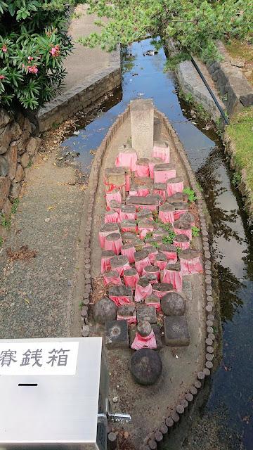 奈良公園 猿沢池 地蔵