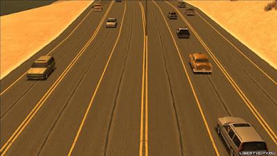 gta san andreas road texture mod