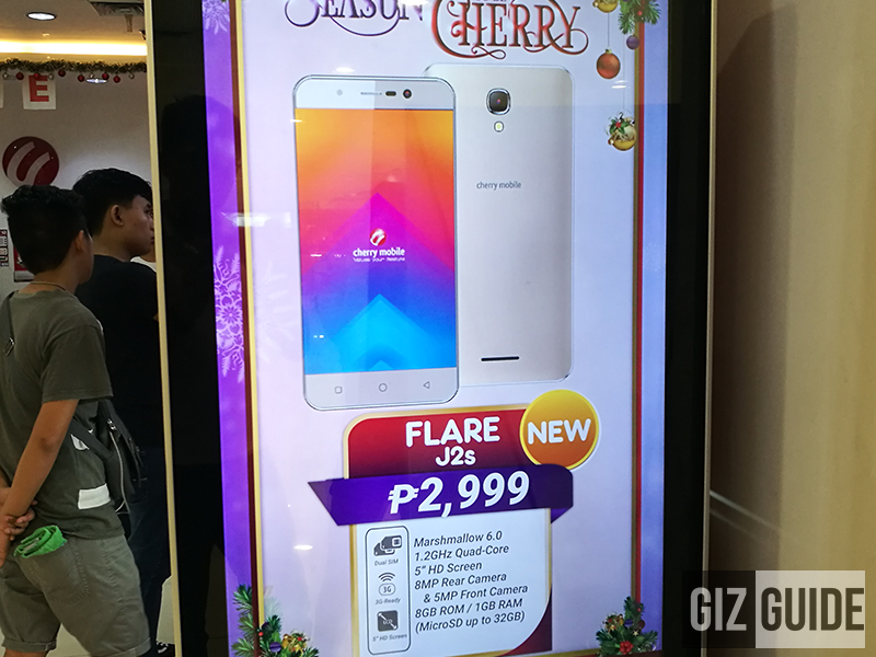 Cherry Mobile Flare J2s With 1 GB RAM Announced, Priced At PHP 2999