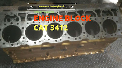 Caterpillar 3412, engine block, motor parts, marine, camshaft, supplier, used, second hand, reusable, genuine, sale, oil pump, crankshaft