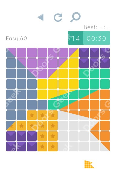 Cheats, Walkthrough for Blocks and Shapes Level 80