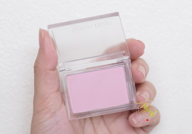 a photo of Althea Missha Cotton Blush In Lavender Perfume review by Nikki Tiu of askmewhats.com