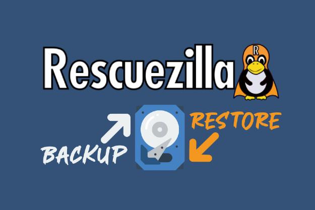 Rescuezilla - Ολικό backup αρχείων και λειτουργικού για άμεση επαναφορά σε περίπτωση βλάβης