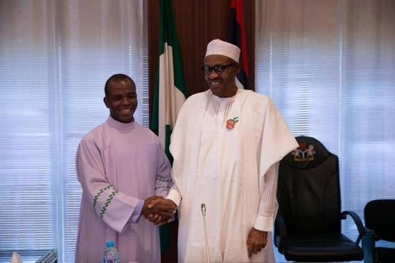 Fr. Mbaka: Buhari's chance of survival is slim