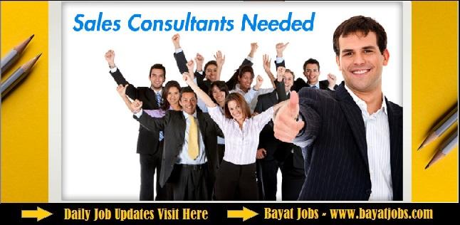 Sales Consultant Urgent Recruitment in Dubai Attractive Benefits