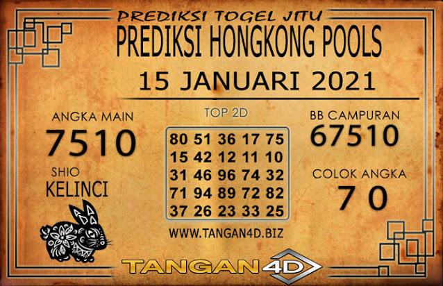 PREDIKSI TOGEL HONGKONG TANGAN4D 15 JANUARI 2021