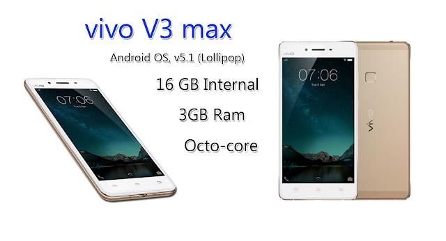 Vivo V3 max Full Mobile Specifications,Price Vivo V3 max online india