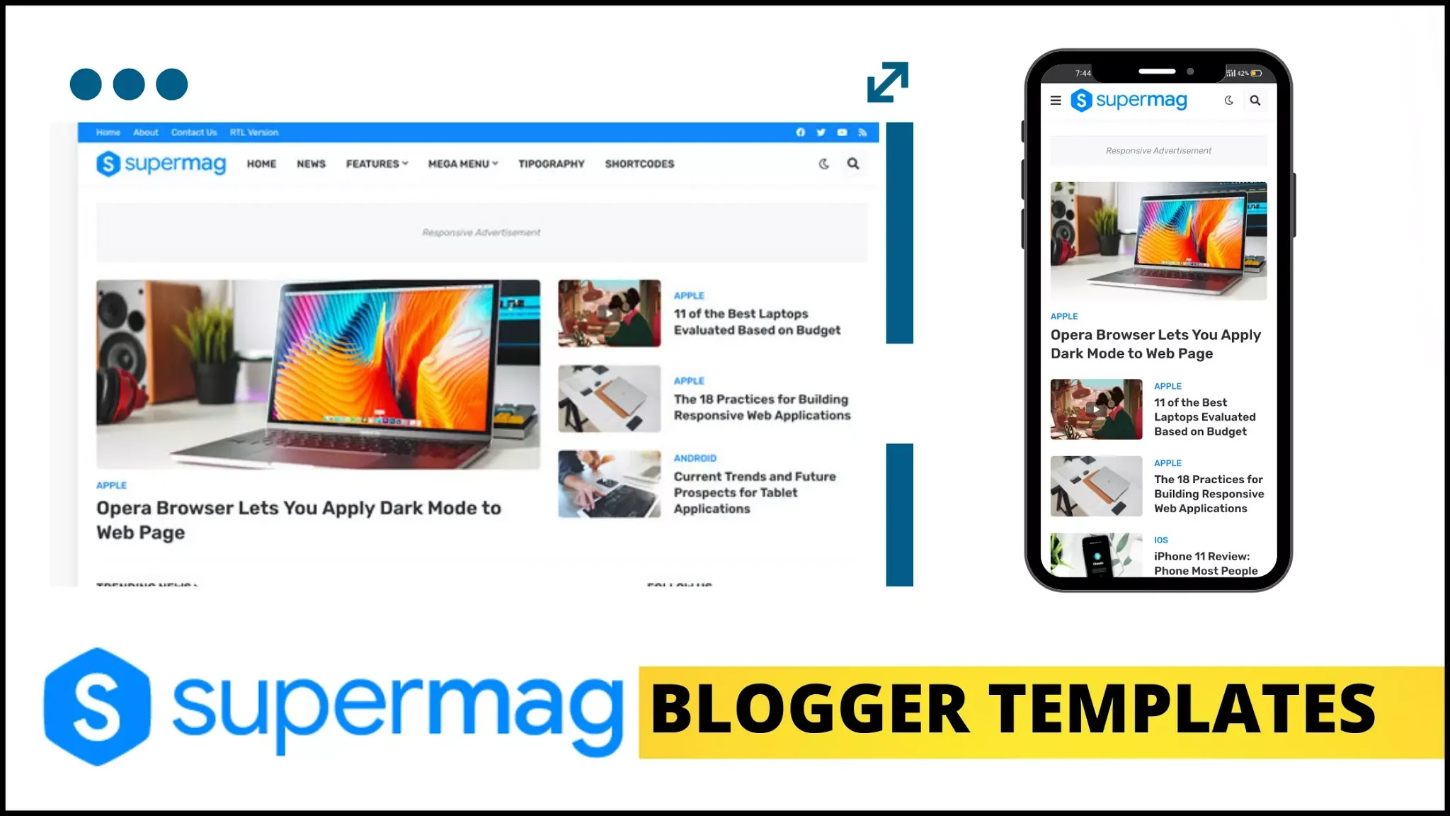 blog-website-templates, blogger-templates-html