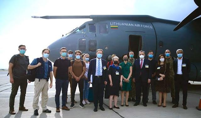 Lituania envía médicos a Armenia