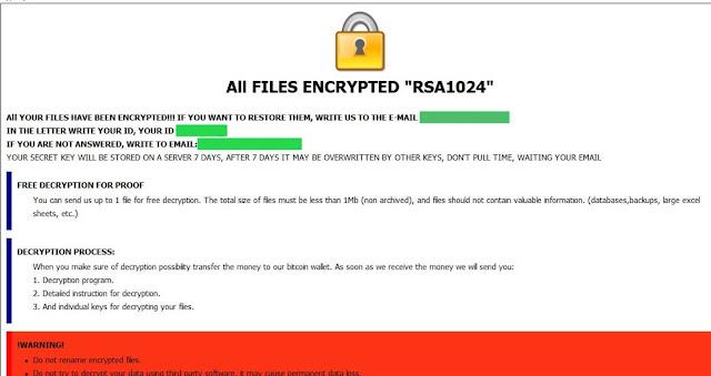 .VIVAL files virus