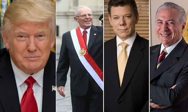 Trump discutirá soluciones a la crisis venezolana con presidentes de Brasil, Colombia y Perú
