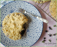How to make a Bilberry & Custard Crumble Tart