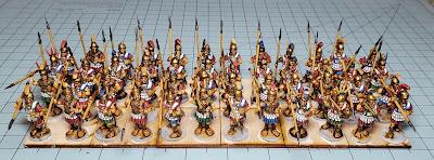 Victrix Mercenary Hoplites - WIP +1