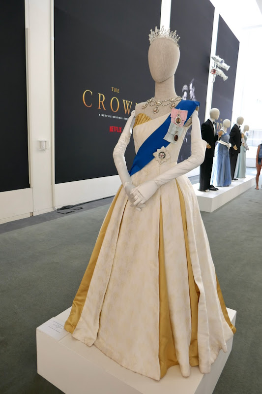 Crown season 2 Queen Elizabeth II ball gown