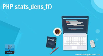 PHP stats_dens_f() Function