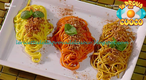 Ricette Sul Natale.Spaghetti Alle 3 Arrabbiate