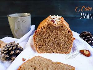 Cake aux amandes, sans beurre et sans gluten !