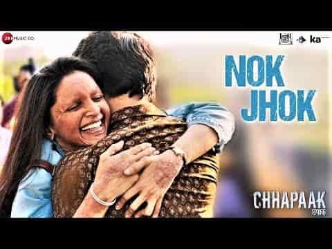 Chhapaak-Nok Jhok Easy Guitar Chords|Siddharth Mahadevan