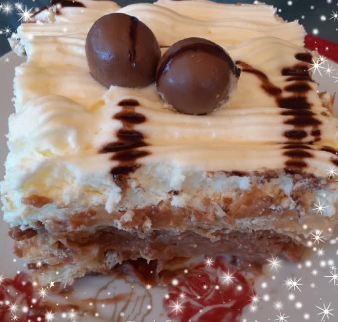 Πανεύκολο μιλφέιγ με σοκολάτα
