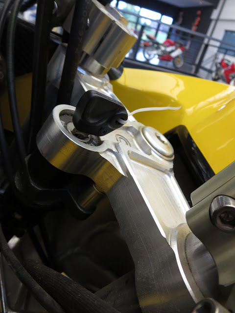 Bimota Mantra Triple Clamp