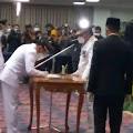 Gubernur Lampung Lantik Bupati dan Wakil Bupati Kab.Way Kanan