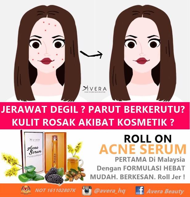 Hilangkan Jerawat Dengan Avera Acne Serum