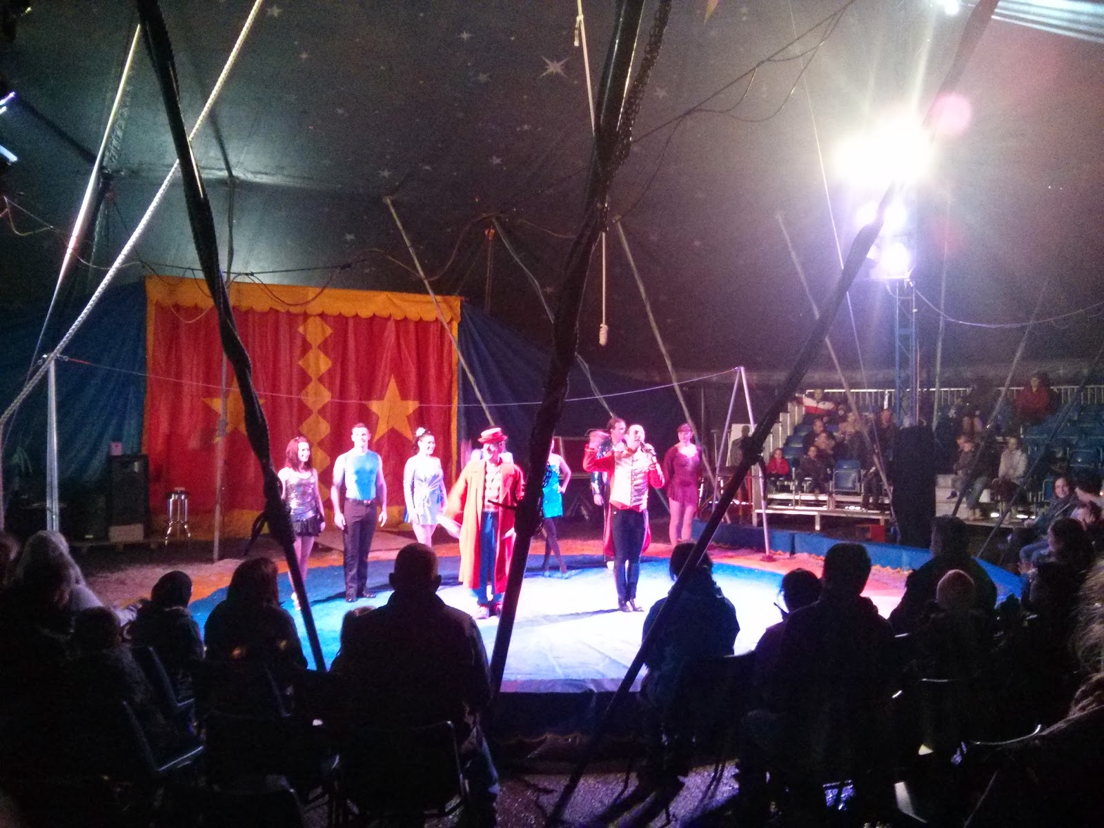 The Circus Performers Taking a Bow