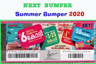 Next Bumper Summer Bumper BR 72 - 2020