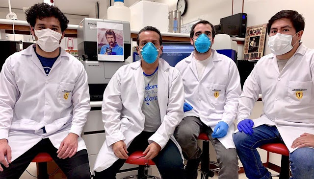 Peruanos crean prueba rápida molecular para detectar coronavirus