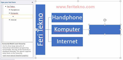 cara membuat mind map di powerpoint 7