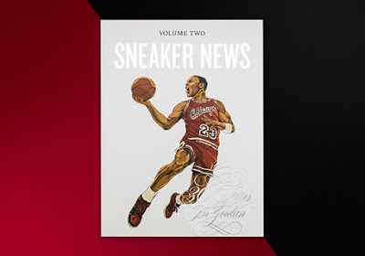 fe1a023974e4c5 Sneaker News is proud to unveil Sneaker News Volume Two  Thirty Years Of  Air Jordan. The second issue places a spotlight on three decades of the Air  Jordan ...