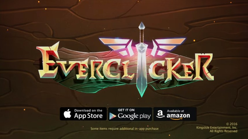 Brand New Mobile Game from KingsIsle, the EverClicker! - Stars of