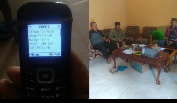 SMS Terakhir Korban Sriwijaya Air Indah Halimah, Sebut Cuaca Sangat Buruk Sebelum Naik Pesawat