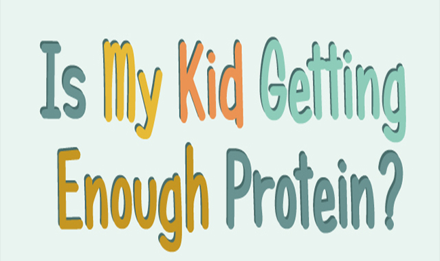 Is My Kid Getting Enough Protein? #infographic
