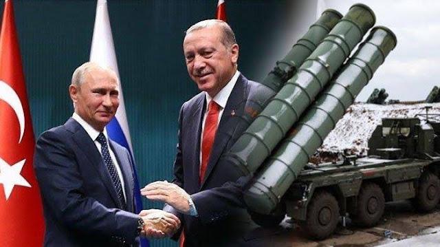 Diancam Washington, Erdogan Tetap Teruskan Memborong Lebih Banyak S-400 Rusia